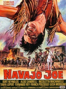 Theatrical poster for Navajo Joe (1966)